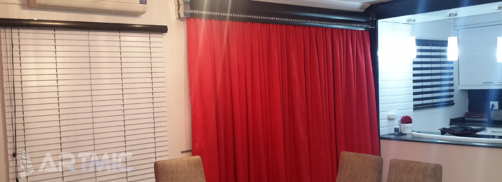 ARTMIC BLINDS & CURTAINS 1a